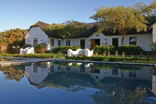 Bushmans Kloof's homestead.