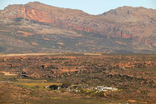 Bushmans Kloof sits amid the Cedarberg mountains.