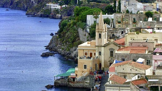 A long and influential history ... Lipari, Italy.