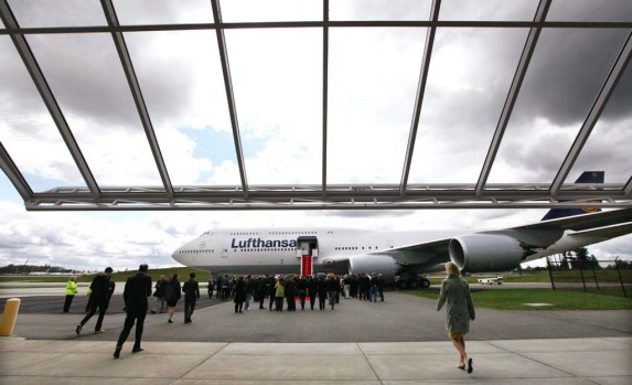 Lufthansa is the launch customer for the Intercontinental and will start service with the plane between Frankfurt, ...