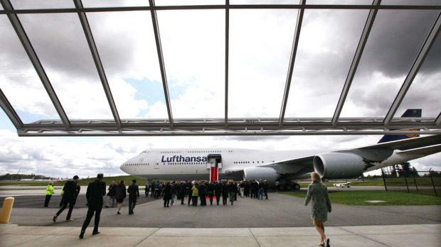 Lufthansa is the launch customer for the Intercontinental and will start service with the plane between Frankfurt, Germany and Washington, DC. T