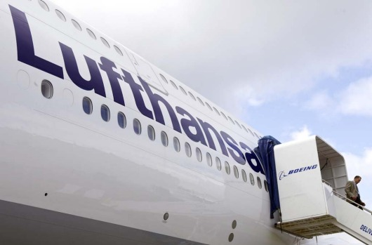 The head of Lufthansa fleet management said he is not happy with the weight of Boeing new 747-8 jumbo, but that will not ...