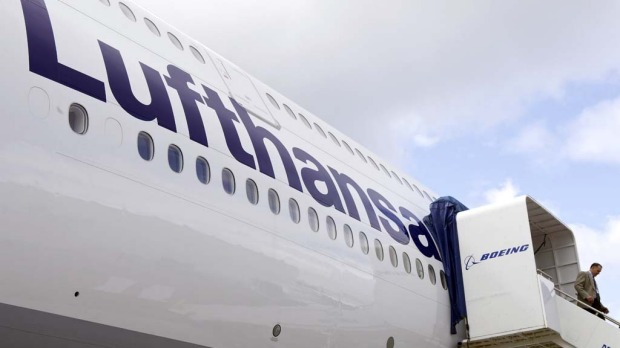 The head of Lufthansa fleet management said he is not happy with the weight of Boeing new 747-8 jumbo, but that will not restrict the use of the airline's newest aircraft.
