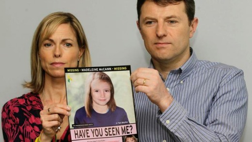 Appalled: Kate and Gerry McCann.