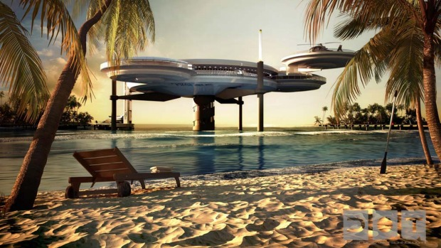 Water Discus Hotels comprise two discs - an underwater and above-water one. This combination will allow guests to admire ...