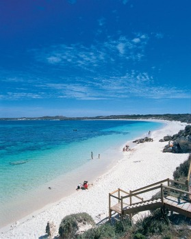 Salmon Point on Rottnest Island.