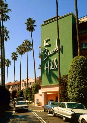 The Beverly Hills Hotel.