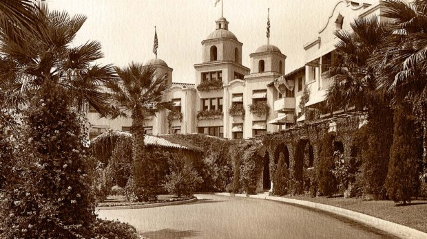 The Beverly Hills Hotel early last century.
