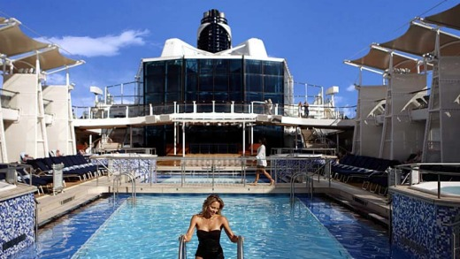 Activities and accommodation galore ... the Celebrity Equinox.