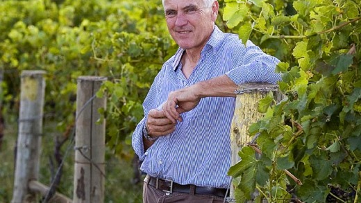 Winemaker Philip Shaw at his Orange winery.