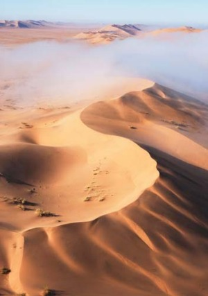 The country has some of the world's tallest dunes.