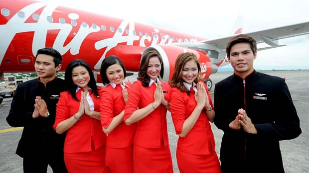 AirAsia may offer cheap flights, but its cabin crew still offer great service.