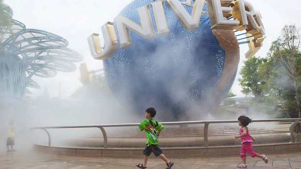 Mass appeal ... Singapore's Universal Studios.