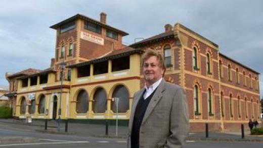 Queenscliff's tourism chief Graham Christie.