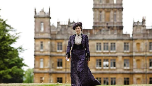 Highclere Castle in Berkshire is used for the exterior shots of Downton Abbey, although many of the interiors are shot ...