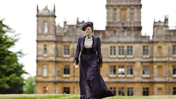 Highclere Castle in Berkshire is used for the exterior shots of Downton Abbey.