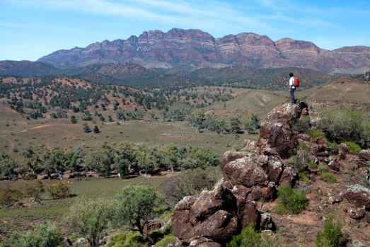 Arkaba Walk is the newest of a small but growing number of luxury guided walks in Australia.
