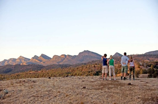 One of the joys of bushwalking through Arkaba's open land is that there?s no need to follow trails ? we follow instead ...
