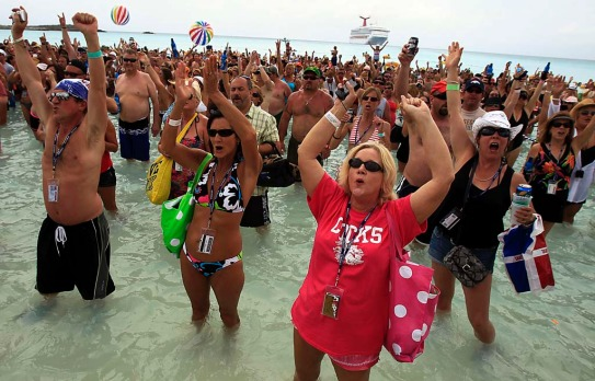 Cruises have quietly gone from depositories for has-been entertainers to floating music festivals for current-day ...