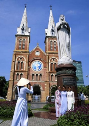 Notre Dame Cathedral, Ho Chi Minh.