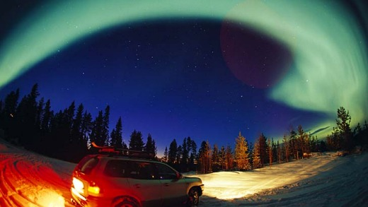 Aurora hunters on the chase.
