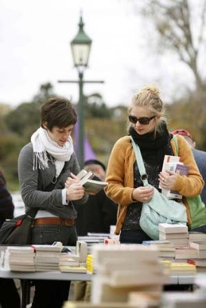 The business of reading is a main attraction in the former gold-rush town of Clunes.