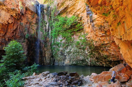 Catch the morning sun at Emma Gorge. El Questro, Western Australia.