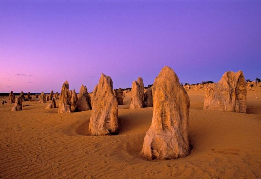 Wonder which planet you?re on at The Pinnacles. Cervantes, Western Australia