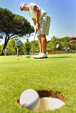 There are plenty of golf courses on offer.