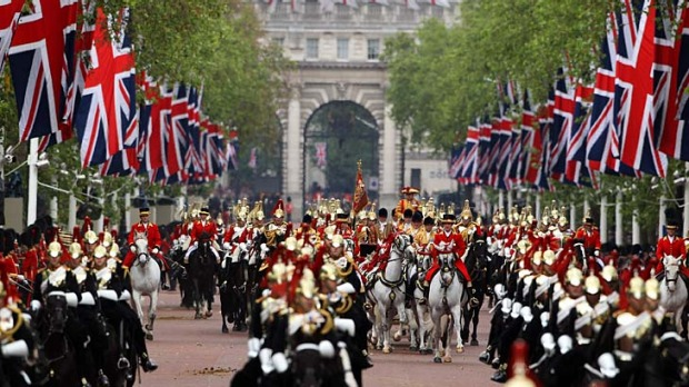 London still knows how to throw a party ... Diamond Jubilee celebrations have helped the city become the no.1 ...