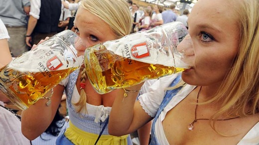 The birth of the beer garden came about in the early 19th century Bavaria, by royal decree.