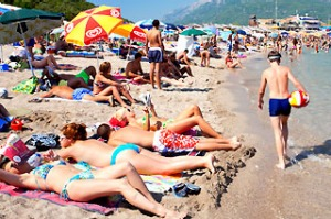 Budva ... Montenegro is home to some of the best beaches on the Adriatic.