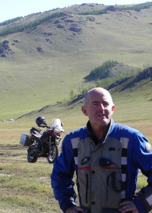 Motorcycle explorer Mick McDonald knows a road less travelled or two.