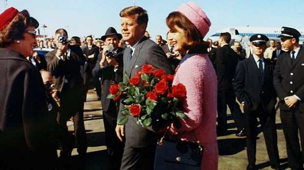 The Kennedys on November 22, 1963.