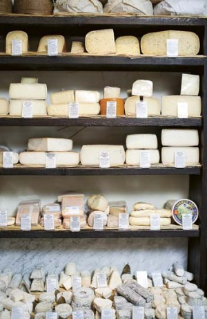 La Fromagerie, Marylebone.