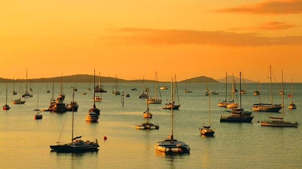 Picture perfect ... Airlie Beach has become more upmarket.
