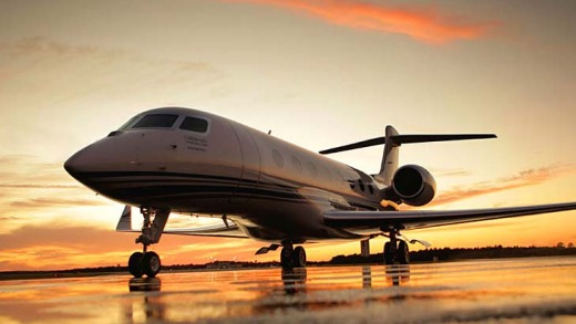 The fastest subsonic executive jet, Gulfstream's forthcoming G650, can fly 11,000 kms at 1041km/h and has a top speed of ...