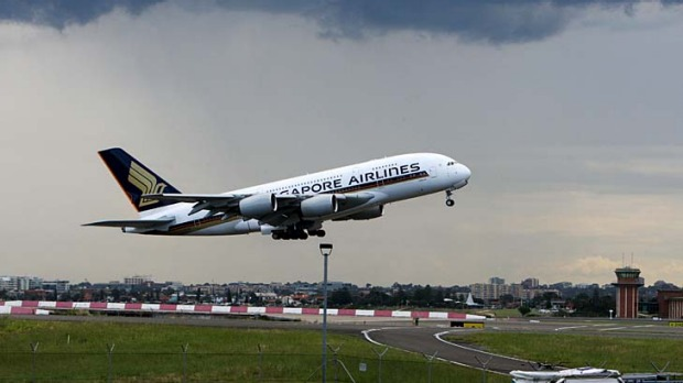 Taking off: Singapore Airlines has targeted Australia in its growth plans.