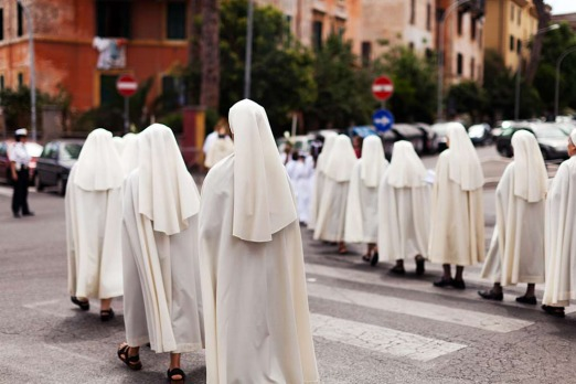 Garbatella: <i>a superfluity of nuns</i>