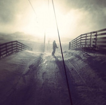 Eyre T-bar, Perisher, by @simon_says.