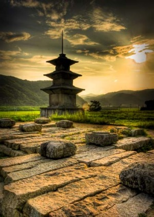 Majestic sights ... Gyeongju, South Korea.