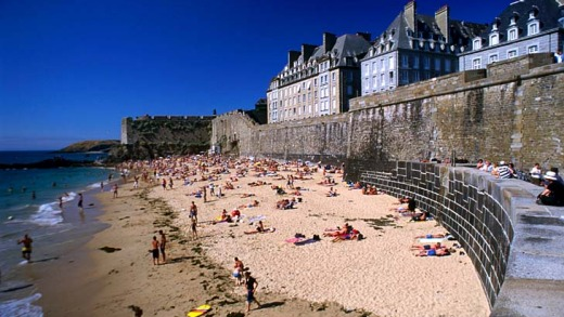 Famous for 16th-century pirates ... St Malo, France.
