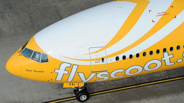 Supersize me... Scoot offers budget flights with add-on perks such as 'super' seats for an extra $24.