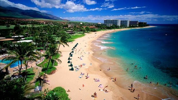 Maui rules ... Kaanapali Beach. With all the fancy resort swimming pools, guests sometimes that forget a world class ...
