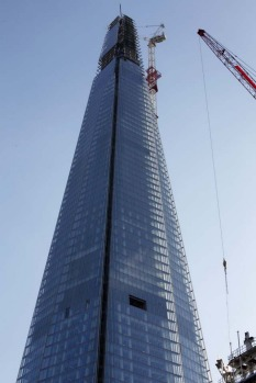 Construction of the Shard began in 2009. Since then, it has shot up to overtake the 302-metre Capital City Moscow Tower ...