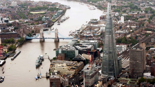 The Shard, the newly-constructed high-rise building in London, that is Europe?s tallest.