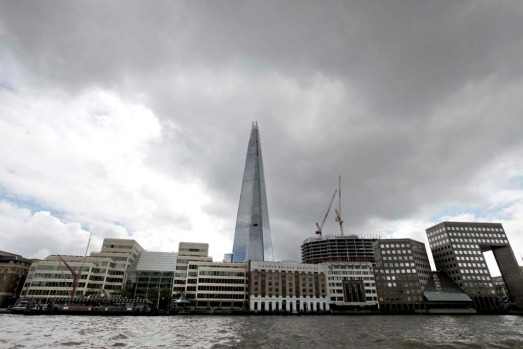 "Branded ""an icon for London"" by its developers, the Shard will be completed just ahead of the Olympic Games, which open ..."
