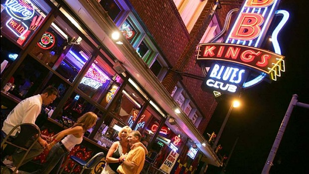 Soul food... B.B. King's Blues Club is at the centre of the entertainment district.