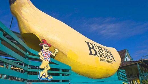 The Big Banana in Coffs Harbour.