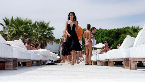 St Tropez, France ...  where the great, the rich and the famous seek the sun.